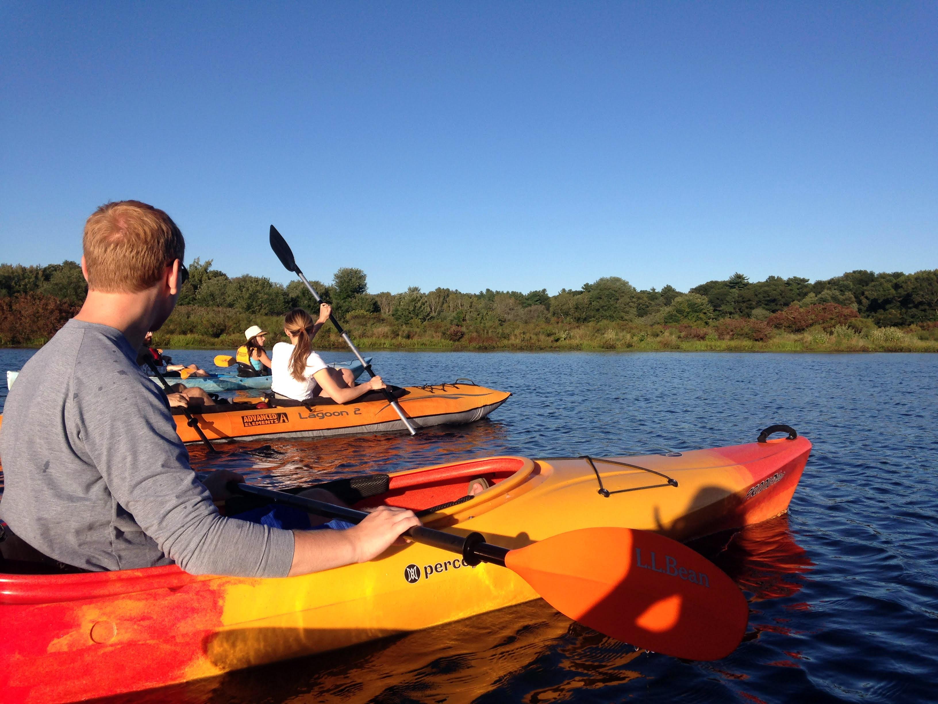 charles river kayaing