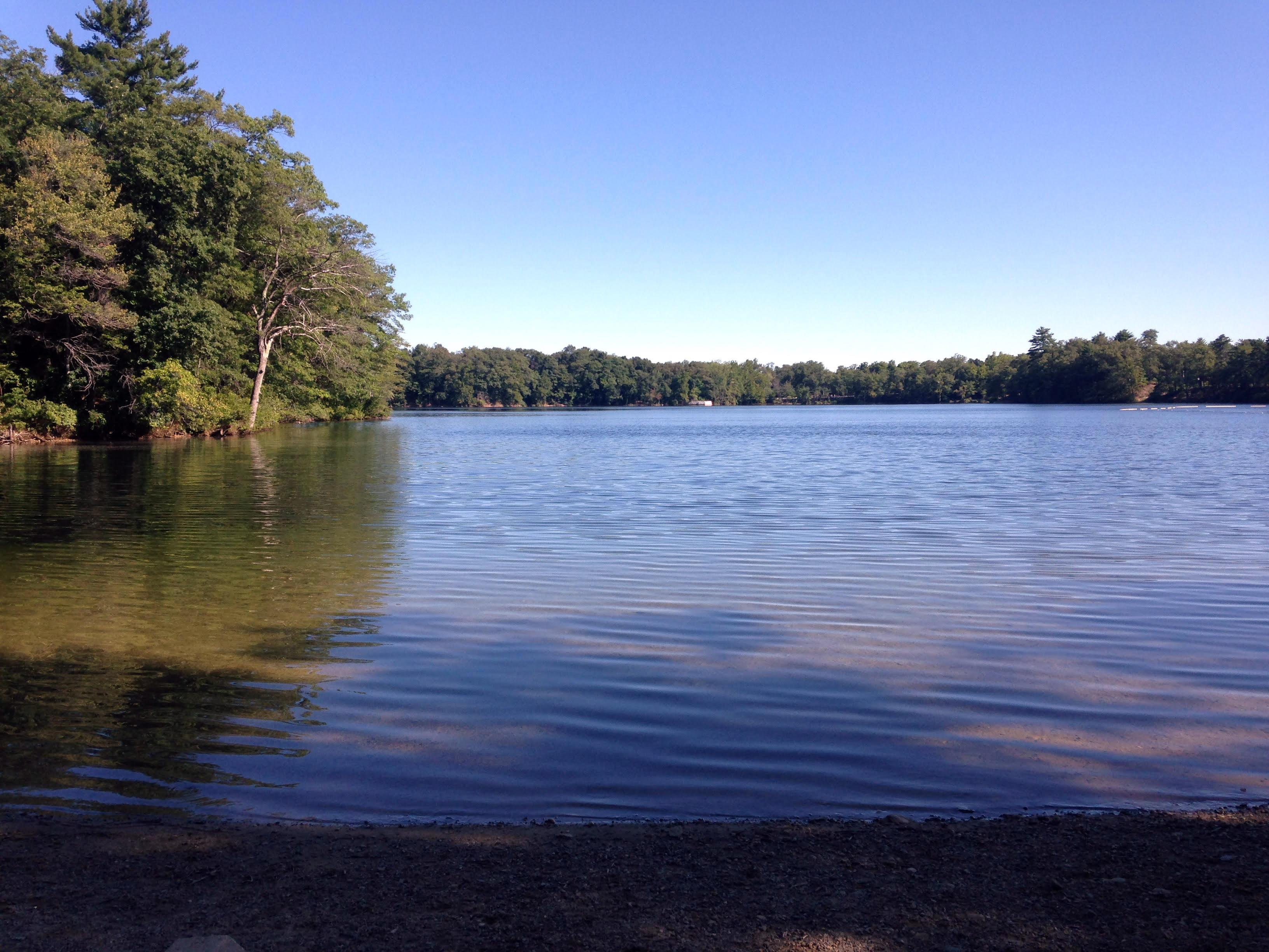 dug pond kayaking