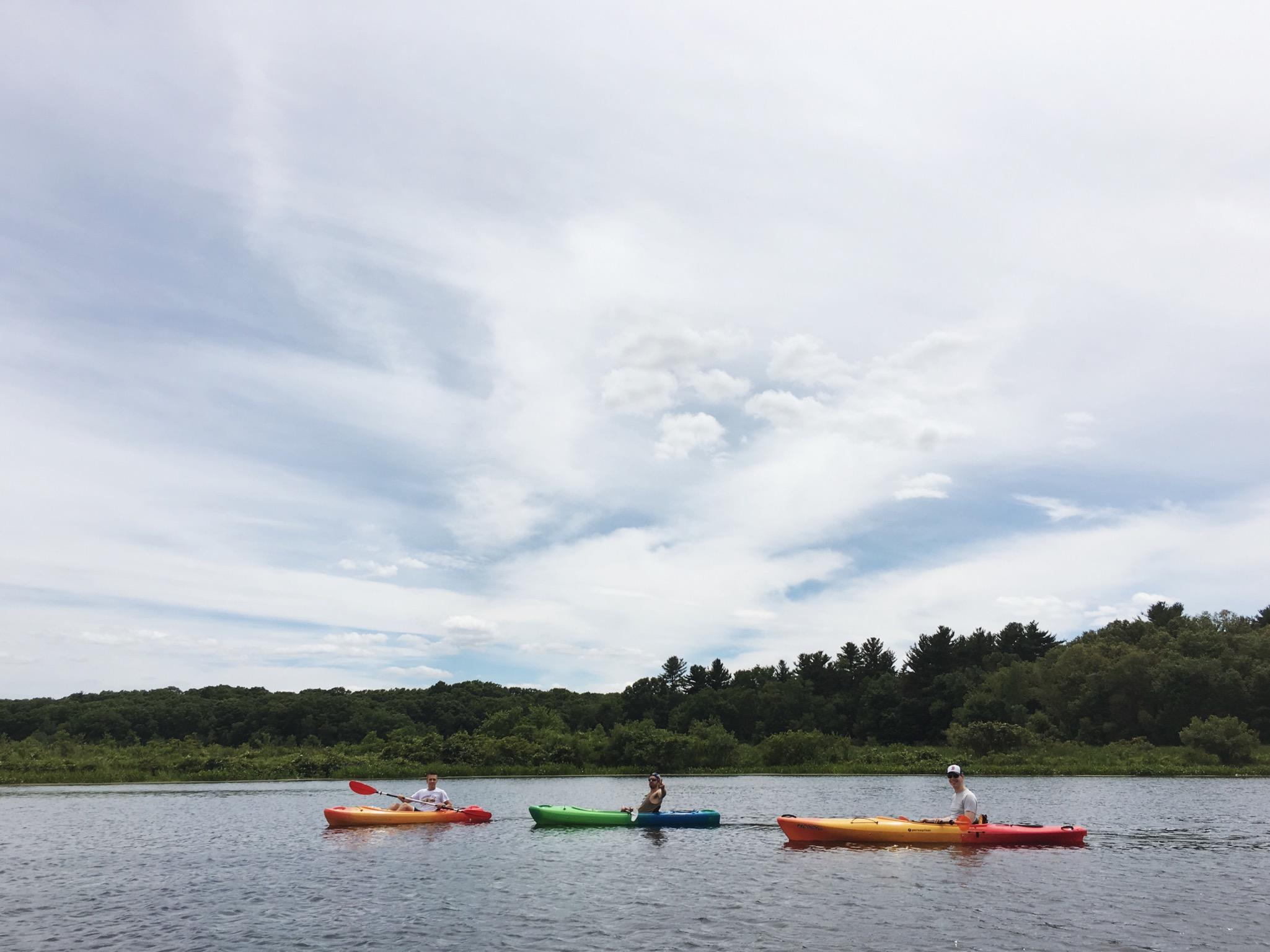 kayak july 2 2